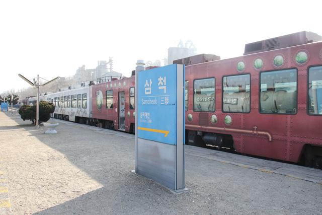 韓国乗りつぶし】>三陟駅